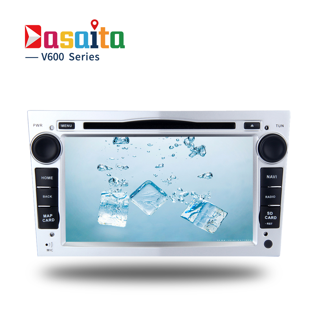 2 DIN Android 6.0 voiture DVD GPS pour Opel Vauxhall Vectra Astra H Antara radio lecteur multimédia avec Octa core 4 GB Ram 32 GB Rom
