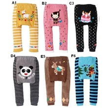 Детский hooyi/штаны; леггинсы для девочек; детские леггинсы; Штаны для новорожденных; одежда для маленьких мальчиков; нижнее белье с рисунками животных
