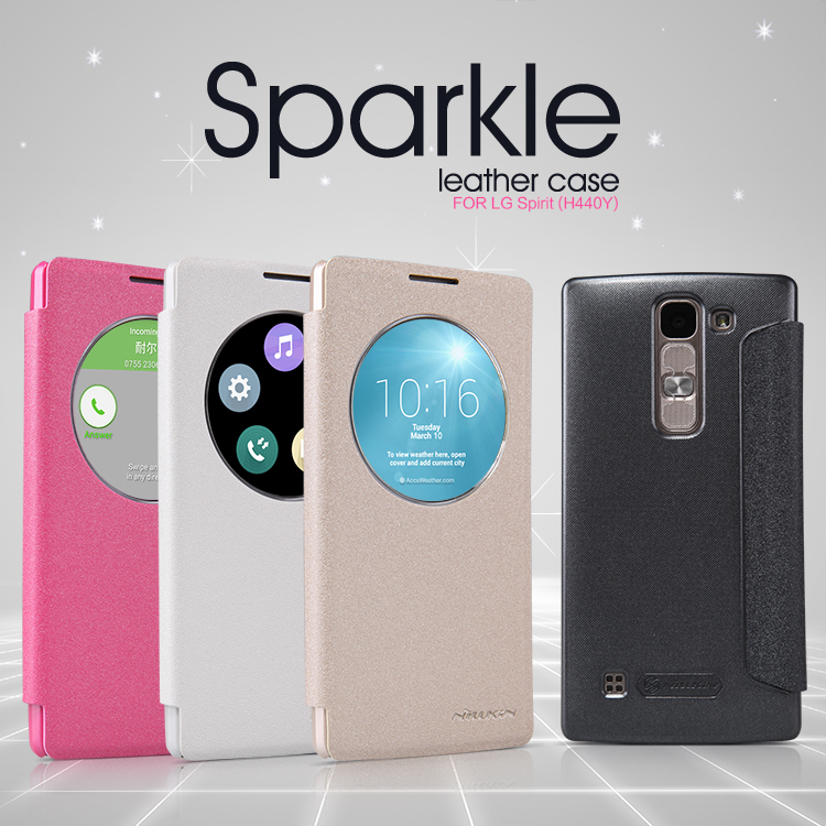 info for cd9f0 c5e27 US $8.33 |Case for LG Spirit (H440Y) leather case NILLKIN Sparkle super  thin flip cover luxury brand with Retailed Package-in Flip Cases from ...