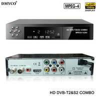 Digital Terrestrial Satellite TV Receiver Combo DVB T2 S2 HD 1080P DVB T2 Dvb S2 TV