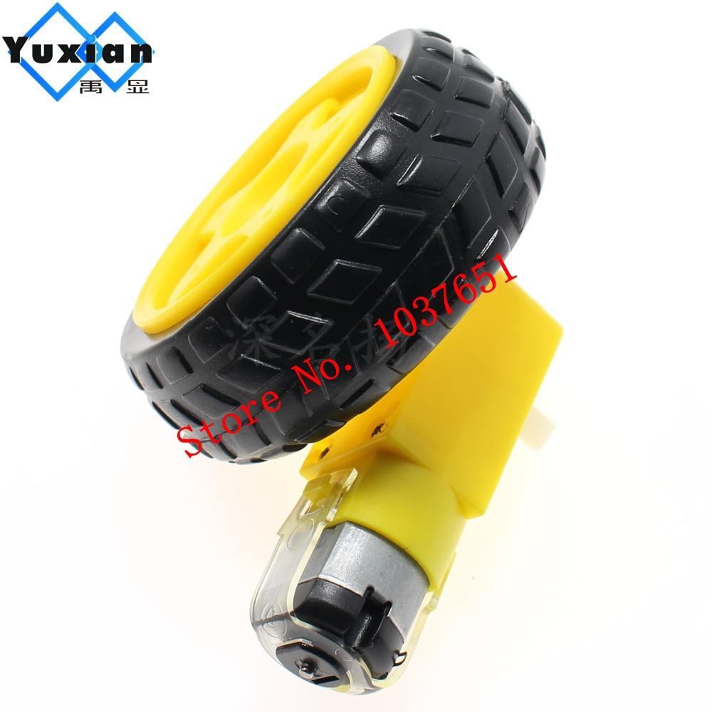 Ein/smart Auto-chassis Motor/roboter Auto Räder Unterstützung Räder GroßZüGig 1 Stücke Verzögerung Dc Motor
