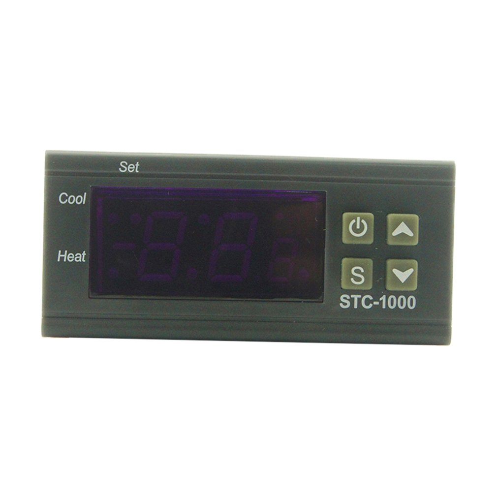 Practical LED Digital Temperature Controller STC-1000 12V 24V 220V Thermoregulator Thermostat With Heater And Cooler