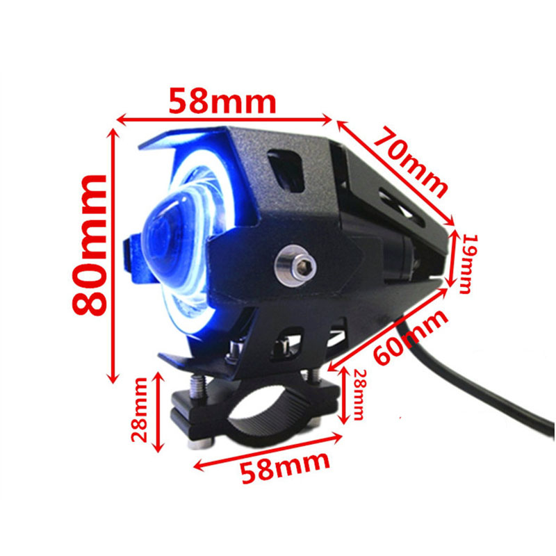 lowest price 7 inch headlight for Honda bike high low switching CB400SF led headlights with blinker and DRL function VTR250 CB1100 CB750