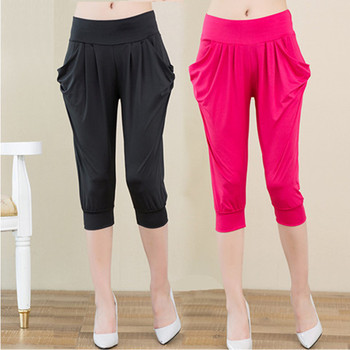 Hot sale! 2017 Summer Pants &Capris Women Fashion Mid Waist Casual Capris Plus Size Ladies calf-length Pants Female 11 colors фото