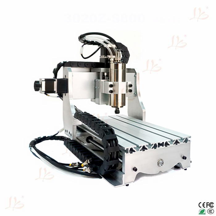 NO Tax to EU! 220V cnc engraving machine CNC milling machine 3020 Z-S800 3axis CNC router no tax to russia cnc 5 axis t chuck type include a aixs