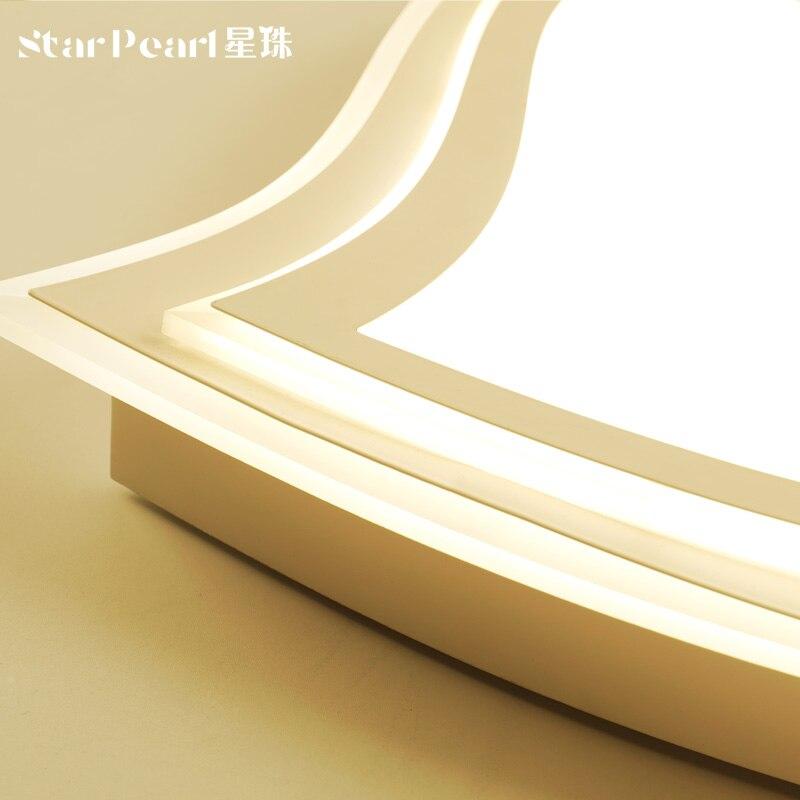 Простой прямоугольник светодиодный потолочный светильник безэлектродного дистанционный пульт свет столовая спальня лампа книга освещени...