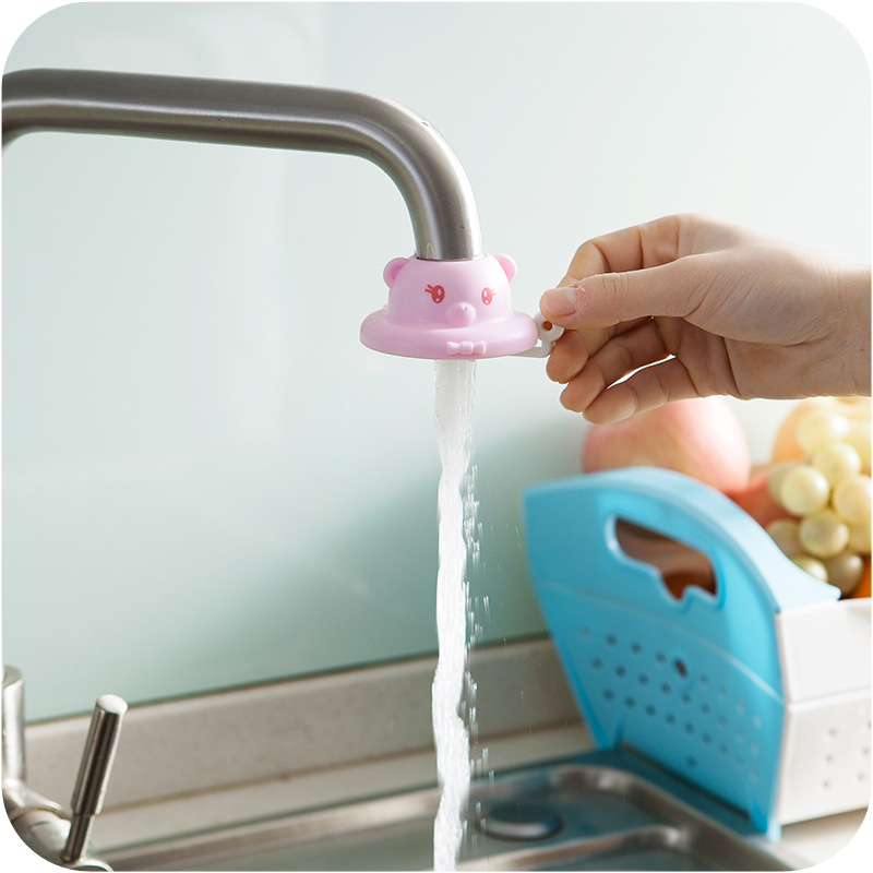 1pc water saving device kitchen faucet accessories bathroom basin flexible sink tap sprayer attachment faucet adapter