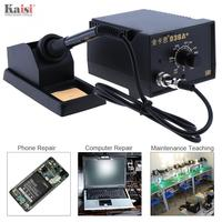 Kaisi New 936A+ 220V 60W Adjustable Constant Temperature Soldering Station with Soldering Iron and Iron Holder for Welding