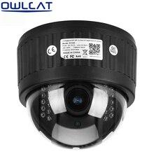 Owlcat 4-КРАТНЫЙ Зум HD 960 P 1080 P Wi-Fi Ip-камера Купольная PTZ беспроводной 2.8-12 мм Микрофон Автофокус Аудио SD Карты Ночного видения P2P