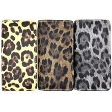 KANDRA 2019 Trendy Women PU Leather Leopard Print Wallet Brand Designer Zipper Phone Long Wallets Purses Wholesale