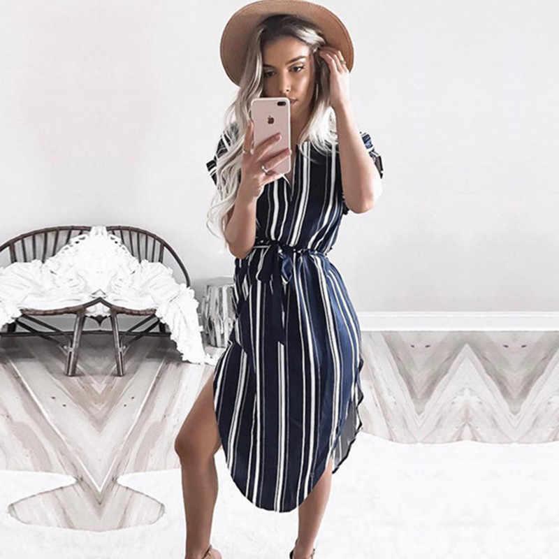 2019 vestido de verano para mujer, vestido de tubo de