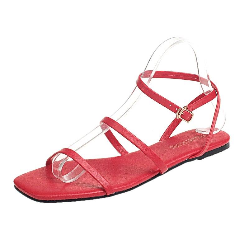 2018 New Women Sandals Summer Fashion Gladiator Flip Flops Female Sandals Slipper Flat Shoes Causal Bohemia Women Shoes