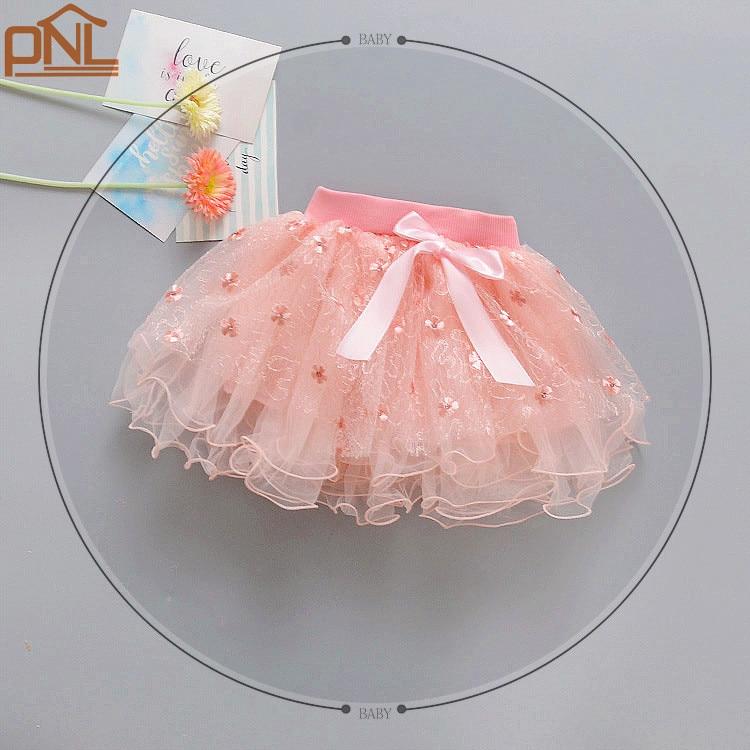 2017 New Spring Summer Kids Clothing Baby Girls Tulle Skirt Birthday Party Tutu Skirt