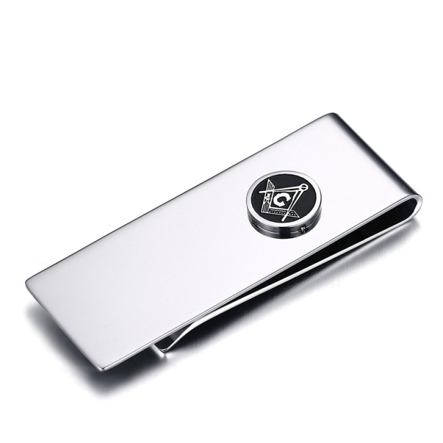 Minimalist Money Clip Titanium
