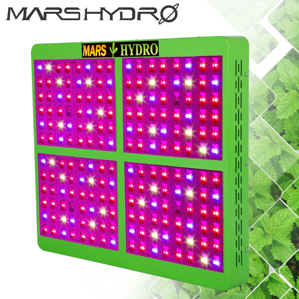 Mars Hydro Reflector 960W Full Spectrum LED Grow Light Growth&Bloom Switches for Grow Box