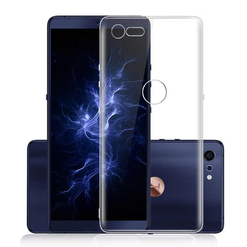 For Smartisan NUT Nut 3 Pro 2 R1 Full coverage Slim Soft TPU Gel Silicone Clear Back Case For Smartisan NUT Pro 2S Pro