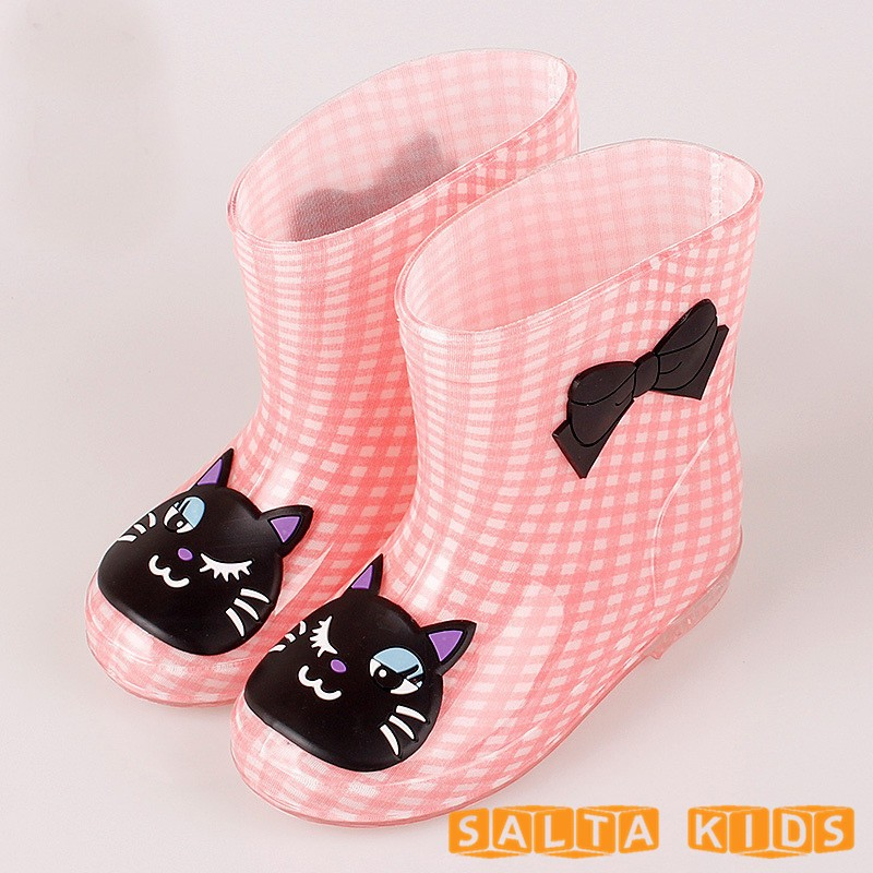 Baby-Boots-Kid-Rain-Boots-With-Cartoon-Printing-Girls-Children-Rain-Shoes-Bow-Waterproof-Child-Rubber-Boots-Infant-shoe-KH079-1