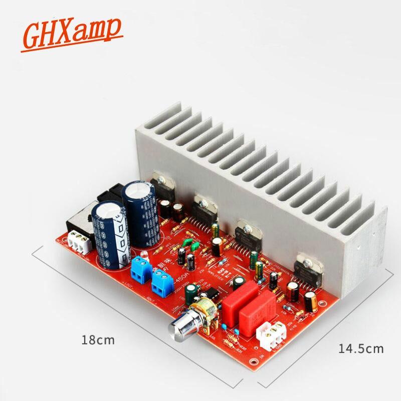 GHXAMP TDA7294 Audio Amplifier Board 200W*2 HiFI Stereo High Power Amp Dual AC 24V 28V Newest Power Amplifier Board 1pc