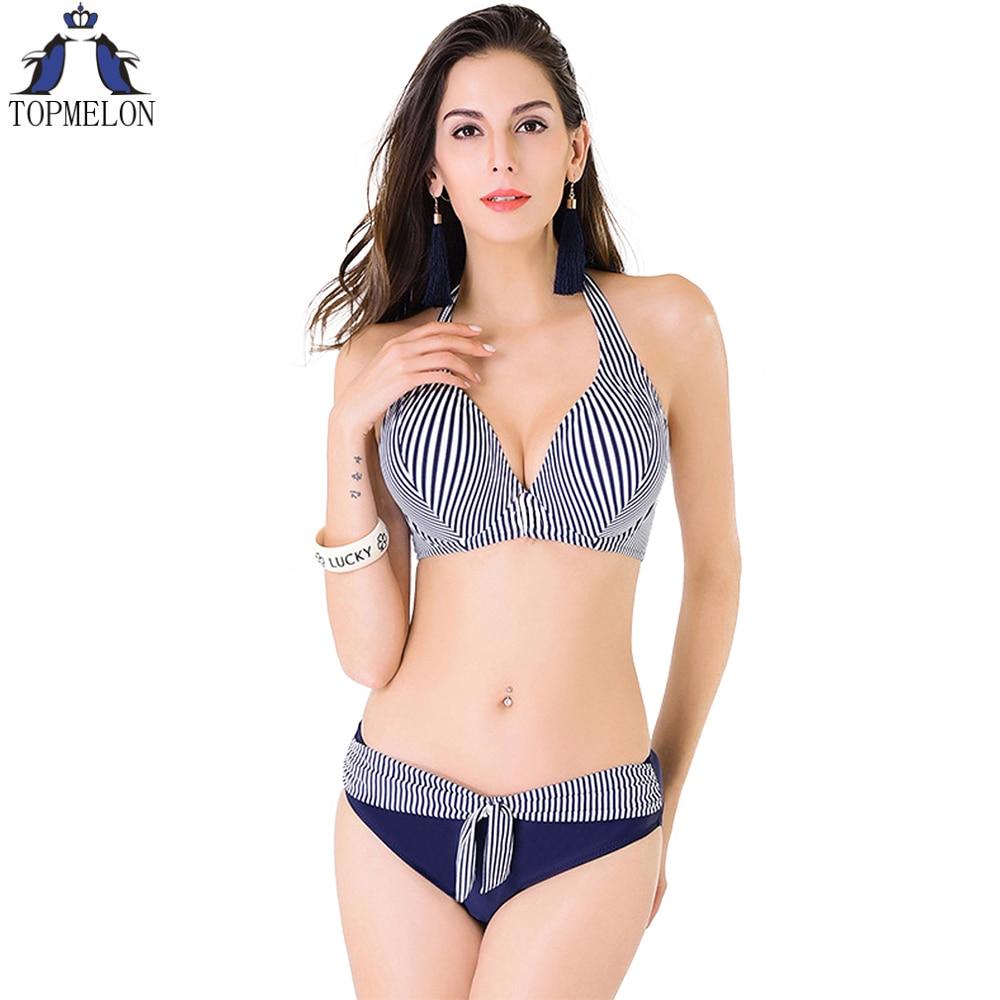 plus size swimwear bikini swimsuit large push up swimsuit ...