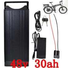 48 v 30ah батарея 48 V 30AH литиевая батарея 48 V 1000 W электрическая велосипедная батарея использовать сотовый телефон LG с хвостовым светом и 54,6 V 2A зарядное устройство