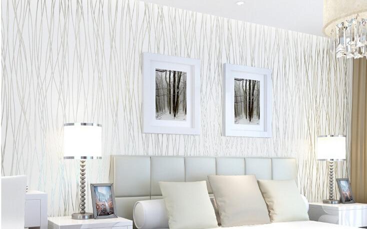 Papel pintado en dormitorios trendy dormitorios - Papel pared dormitorio ...