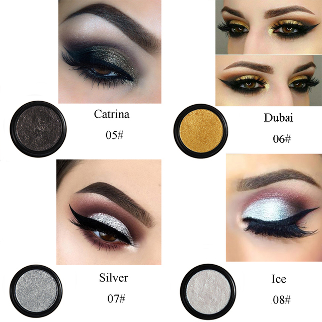 PHOERA 24 Clors 2018 Cosmetic Eye Shadow Palette Glitter Shimmer Powder Natural Pigment Eyes Makeup Cosmetic TSLM2 4