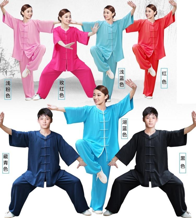 YZL50 New Arrival summer Rayon Cotton WUSHU uniforms TAI CHI clothing summer short-sleeve shadowboxed 2016 NEW FREE SHIPPING