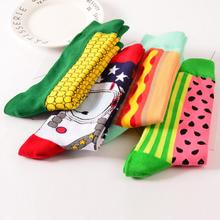 High Cotton Men's Socks Funny Crazy Colorful Crew Novelty Socks Patterned Casual Sox Dress Socks skateboard Long Socks Stockings