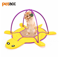 Petacc Multi Functional Creative High Quality Cat Scratching Board Cat Bed Funny Pet Toy With Hanging