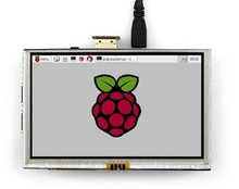 NoEnName_Null RPi2 5.0 inch 26P HD TFT LCD Resistive Touch HDMI Display Screen Module 800*480 for Raspberry Pi A+/B+/2B
