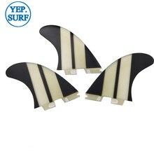 FCS II G3/G5/G7 Fins Black decorate Fiberglass Fin Surf FCS2 G3,G5.G7 Surfboard Hot Sale