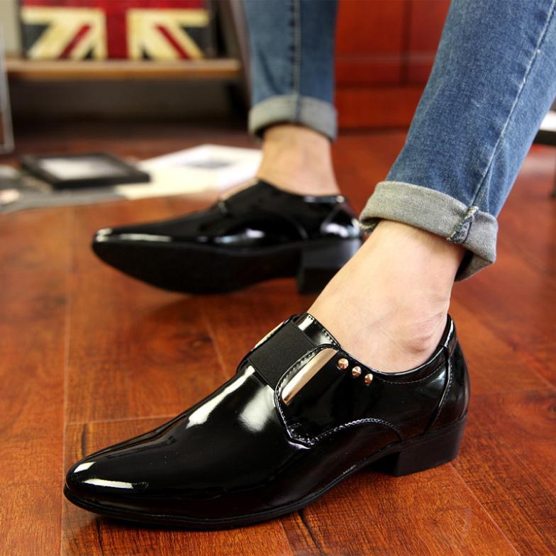 shoes male classic british shoe
