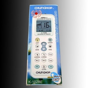Image 5 - חדש החלפת CHUNGHOP AC/C Remoto בקר K 1028E 1000 ב 1 מזגן אוניברסלי שלט רחוק Fernbedienung