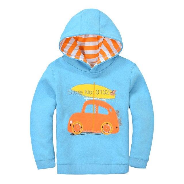 Bt-13, 6 шт./лот, автомобиль, дети мальчики толстовки верхней одежды, с длинным рукавом кофты для 1-7y, хлопок шерсть