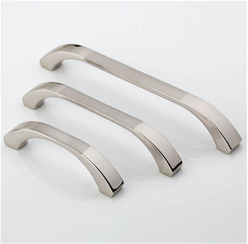 4 Size Stainless Steel Satin Nickel Kitchen Cabinet Door ...