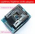 Qualidade superior bloco de Teste LQFP44 TQFP44 para DIP40 adaptador QFP44 Adpater para Interface do ISP AVR Programador adaptador IC sockets