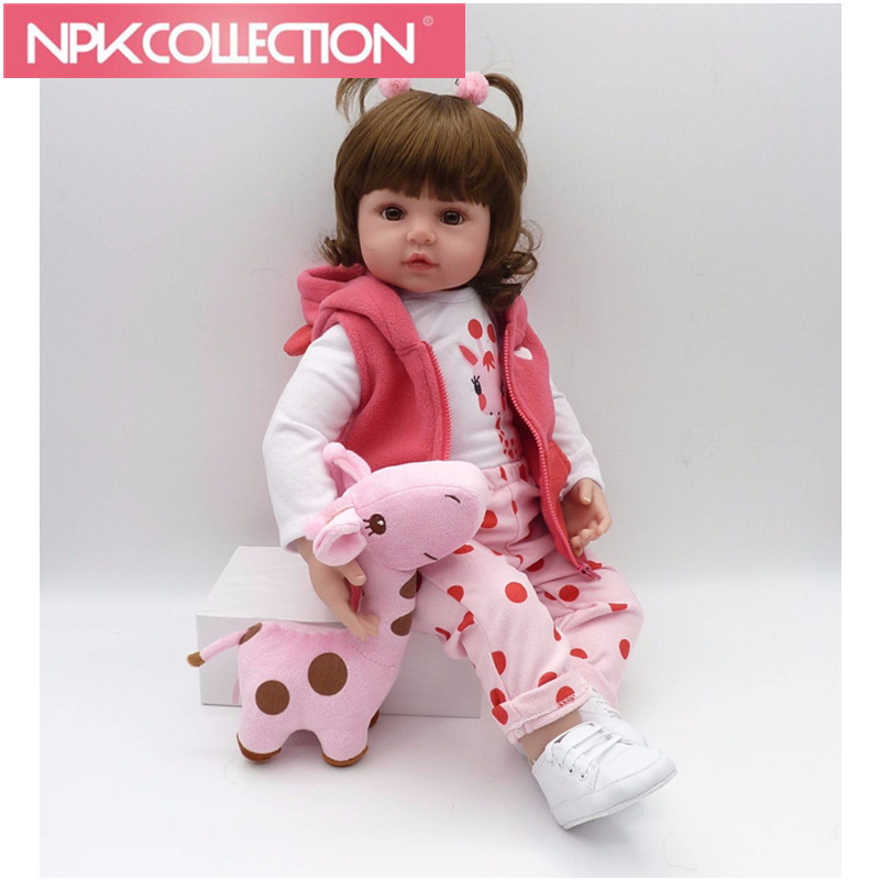 2 Styles Bebe Real Girl Doll Reborn Soft Silicone Vinyl Reborn Dolls Baby Dolls Fashion Brand Gift Alive Bonecas Toy Doll Baby baby born dolls handmade doll bjd dolls reborn silicone baby dolls accessories lol kid toy gift kawaii brand dropshipping