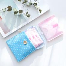 Cute Travel Napkins Towel Pouch Pads Holder Sanitary Napkin Bag Purse Holder Organizer Storage Bags For Girls Travel Organizers