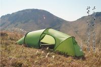 3F Ultralight 1 2person Use Double Layer Waterproof Windproof High Quality Camping Tunnel Tent