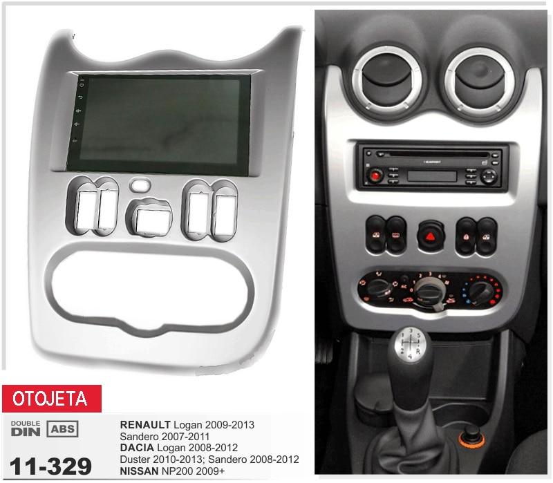 Fit pour Renault Logan 2009-2013 Sendero Dacia Logan 2008-2012 Duster Sandero Nissan NP200 2009 android 7.1 gps mp5 voiture dvd radio