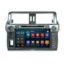 2G RAM 9 pulgadas Android 7.1 Sistema de DVD Estéreo Sistema de Navegación GPS Multimedia Radio Auto Para Toyota Prado 2014 2015