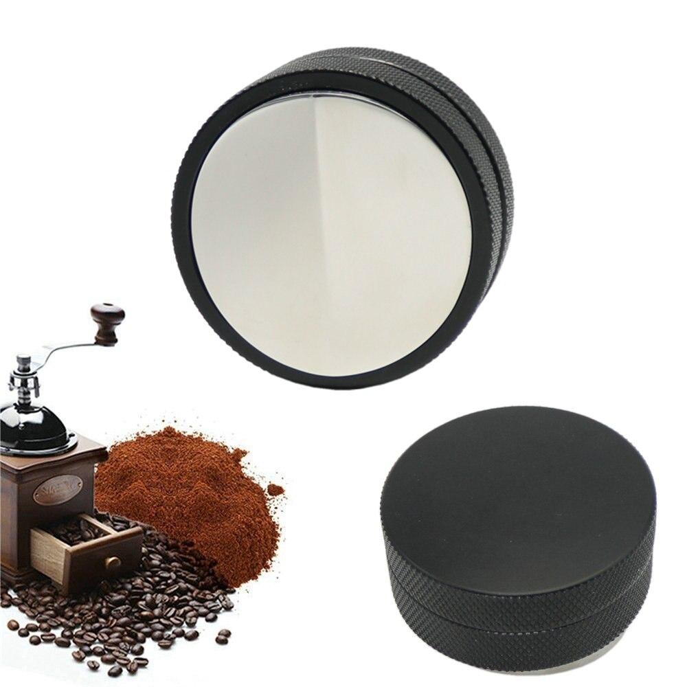 58.3mm Mini Adjustable Espresso Powder Hammer Convex Distributor Coffee Tamper Free Shipping