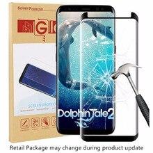 3D с загнутыми краями на весь экран Экран протектор для samsung Galaxy s9 накладка закаленное Стекло для samsung Galaxy S9 плюс с посылка