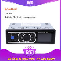 1din   Car     Radio   Coche MP3 Stereo Bluetooth Player Autoradio With Remote Control AUX-IN Audio Player USB SD Port   Car   Electronics