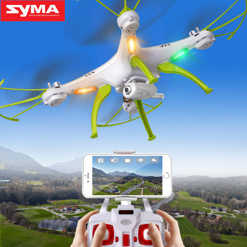 Original SYMA Drone with Camera HD X5HC (X5C Upgrade) 2.4G 4CH RC Helicopter Quadcopter, Drone Quadrocopter Toy Birthday Gift