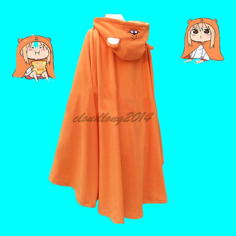 Himout-!Umaru-chan Cosplay Anime Hooded Cloak Hoodies Flannel Coat Blanket Quilt