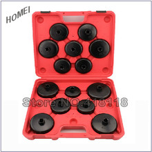 Professional Car Tool Set 14pcs Cup Type Oil Filter Wrench Oil Filter Removal Set