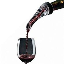 Волшебный винный декантер красная аэрация вина выливной Носик Графин-аэратор для вина быстрая аэрация заливка инструмент насос портативный фильтр 889356