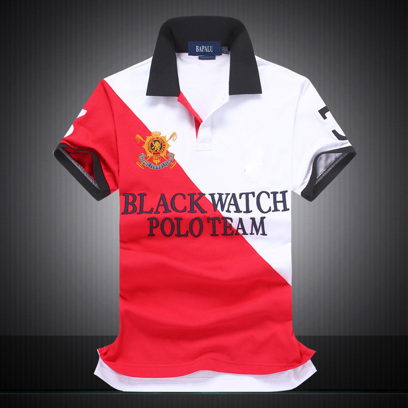 Men's   Polo   Shirt Brand Embroidery Casual Contrast Color Male   Polo   Shirt Short Sleeve Breathable Turn Down Collar   Polo   Tee Shirts