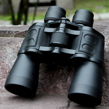 Long Range Binocular 10X50 Top Grade High Definition Binocular Telescope for Army High Power BAK4 Lens Hunting Telescopes